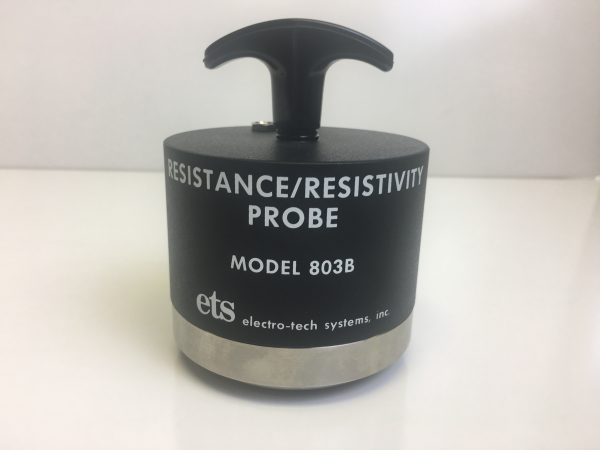 803b surface and volume resistance probe
